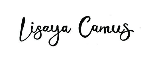 signature lisaya avec fond et noires